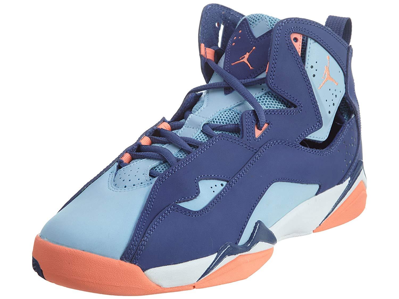 20562ecbbdb7ad Get Quotations · Jordan TRUE FLIGHT GG GRADE SCHL girls basketball-shoes  342774