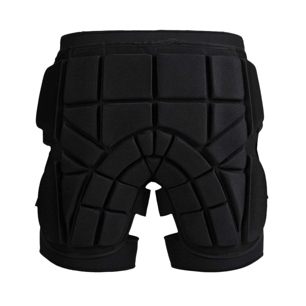 Dovewill Impact-resistant 1.5cm Thickness Skiing Hip Butt Pad Cushion Roller Skating Snowboard Padded Safe Shorts Guard S M L