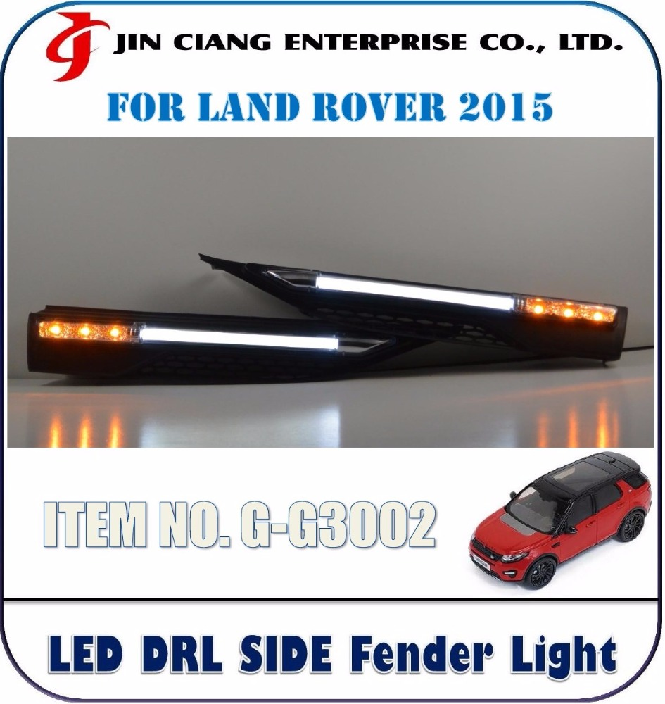 High Quality OPTICAL FIBER LIGHT BAR LED SIDE FENDER LIGHT FOR LANDROVER