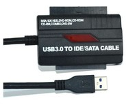 Usb To Sata Ide Cable Adapter USB 3.0 2.0 to HD HDD SATA IDE Adapter Converter Cable
