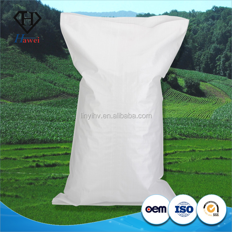 Wholesale PP Woven Bag 50kg cement, flour,rice, fertilizer, food, feed bag