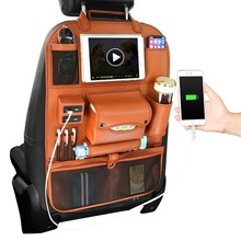 2018 New Leather Auto <span class=keywords><strong>자동차</strong></span> 만리 장성 하버 h3 Seat 주최자 와 4 USB Charging