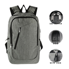 Anti theft Business Laptop Backpack USB college school backpack mochila antirrobo anti theft backpack