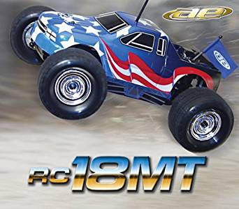 Team Associated 20110 RC18MT 4WD RTR Mini Monster Truck RC Model