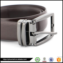 2017 China factory Fashion handmade leather belt for the men