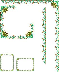 Window Frame-Vine with Grapes & Leaves-Etched Vinyl Stained Glass Film, Static Cling Window Decal