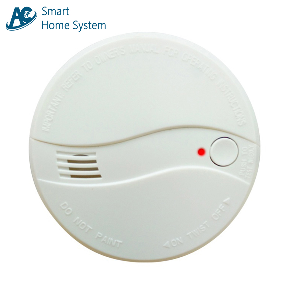 10 Pcs Ce Photoelectric Smoke Detector Sensor Wired Smoke Alarm Fire Alarm For Security Auto Dial Alarm System For Free Shipping A Great Variety Of Goods Fire Protection