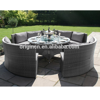 Fabulous Cozy Round Sofa Designed Outdoor Dining Table And Armless Bench Rattan Wicker Restaurant Furniture Wholesale View Restaurant Furniture Wholesale Oem Squirreltailoven Fun Painted Chair Ideas Images Squirreltailovenorg