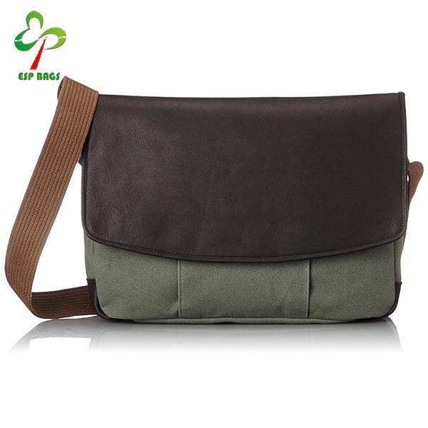 Vintage excellent lifestyles leather heavyduty canvas mens shoulder  messenger bag 4443fab70c0f0