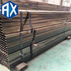 premium quality welded square steel pipe/tube thin wall thickness