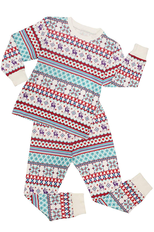 eab265998149 Buy CharmLeaks Boys Pyjamas Girls Sleepwear Christmas Jammies ...