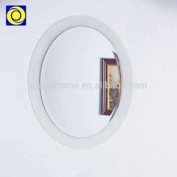 China Mirror Factory Home Decorative Oval Mirror In A White Frame Buy Oval Mirror In A White Frame Oval Mirror Frame Cheap Frameless Mirror Wholesale Product On Alibaba Com