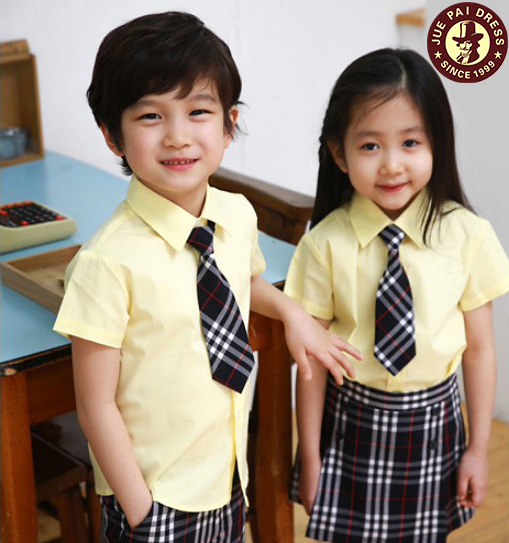Cute Preschool Uniform School Shirt