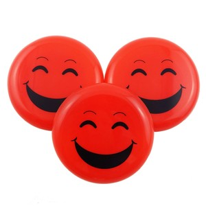 High Quality Wholesale PP Plastic Ultimate Frisbee Customized Solid Color Flying Discs Cheap Emoji Mini Flying
