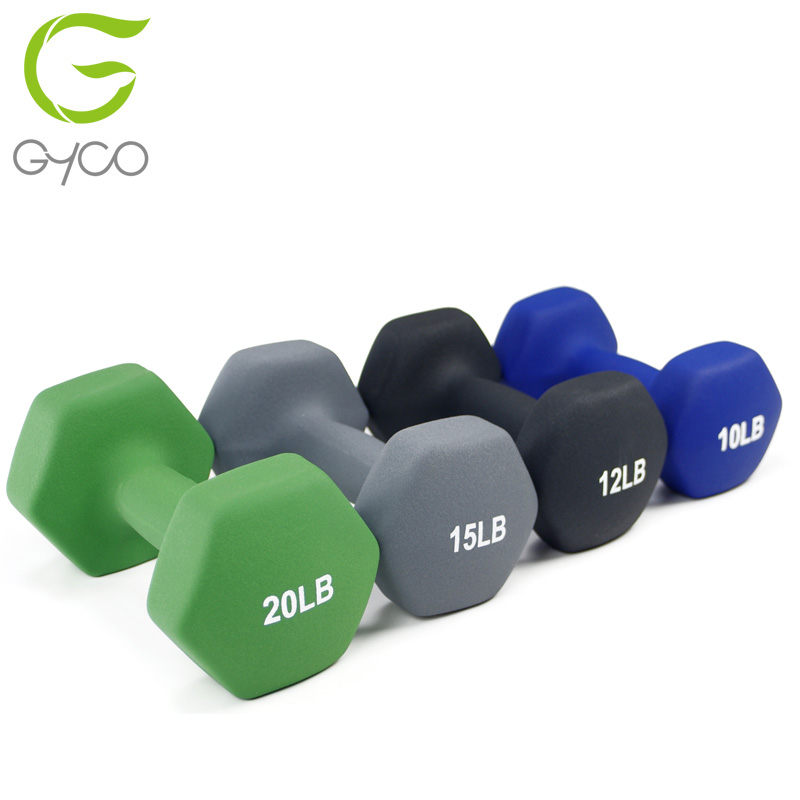 For Sale Gym Equipment Rubber Dumbbells 0.5kg 10kg dumbbell 20 kg dumbbell