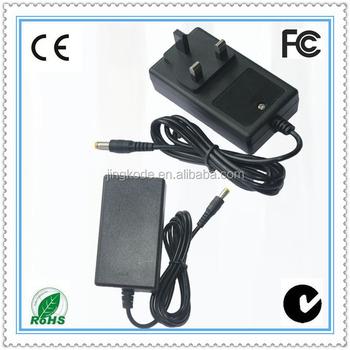 9 Volt 3 Amp Wall Charger Uk Pin Head 230v 50hz