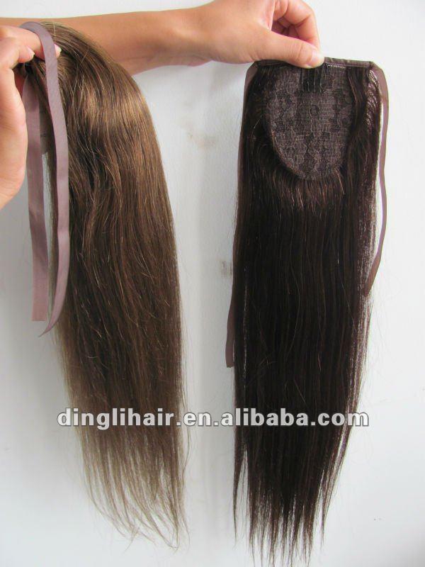 Human Hair Drawstring Ponytail Hair Extension For Black Women Buy