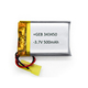 High capacity 3.7V li-polymer soft pack battery 343450