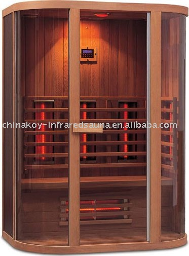 2016 style FIR sauna 04-K71 for two persons (with CE,TUV,EMC)