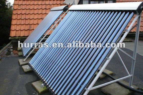 Chaleur tuyau vertical tubes vide capteur solaire pour la maison h tel pi - Prix panneau solaire pour maison ...