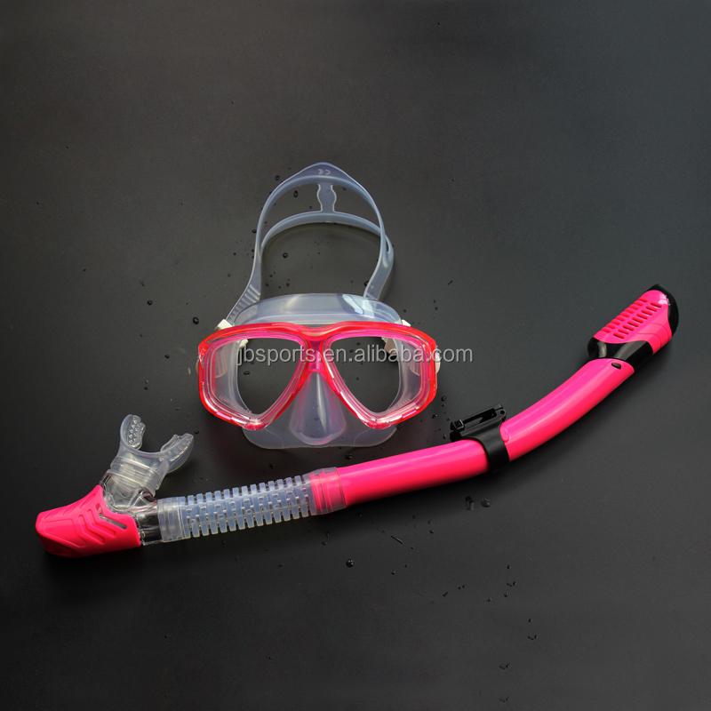 UK Adult Snorkelling Mask PVC Snorkel Pipe Goggles Diving Swimming Scuba Kit New