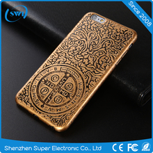 Unique Cell Phone Accessories Engraving Soft TPU Back Cover for iPhone 6/6s Plus