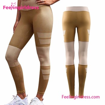 bf3f5a50e8 Soft Womens Gym Leggings Hot Sexy Girl Photo Pantyhose Leggings ...