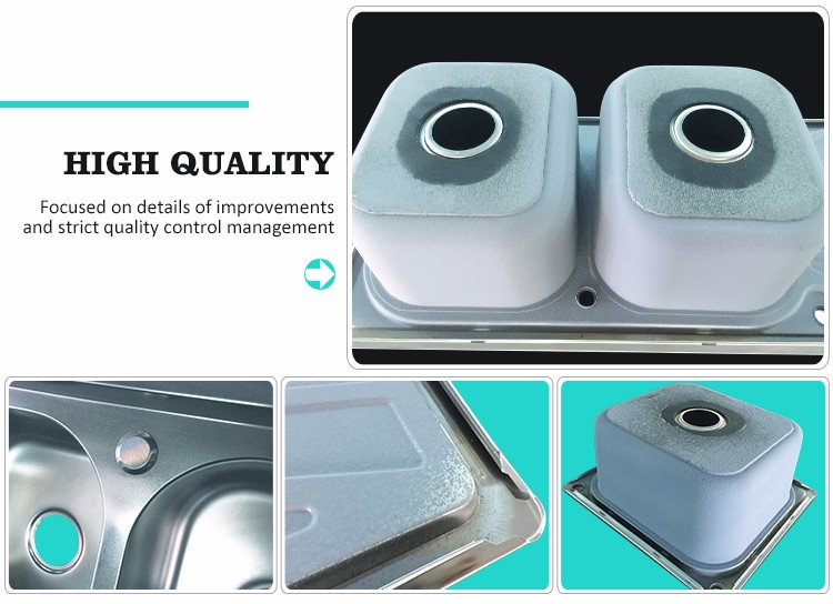 Best selling good quality silver superior wash sink