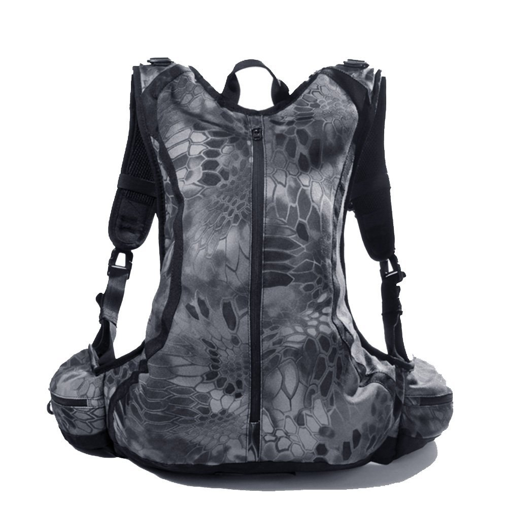 4c73634c73 Get Quotations · Reebow Gear Camo Lightweight Mountain Bike Bicycle  Backpack Riding Cycling Motorcycle Westfield Day Pack Waterproof Bladder