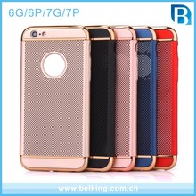 For iphone 7 newest mobile phone accessories 3 in1 net cell phone case for iphone 6 6plus 7 7plus