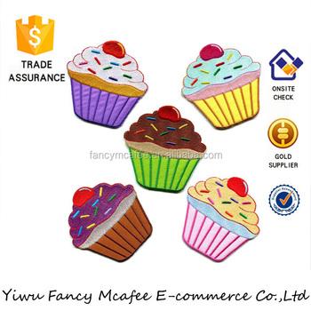 Fee Kuchen Tasse Sweets Dessert Nahen Applique Cupcake Patch Buy