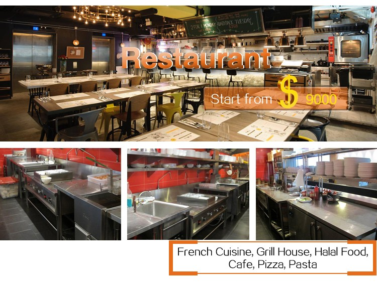 Top Series Chinese Hotel/Restaurant Kitchen Equipment and Uses For Restaurant With Price (All Types Project)