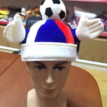 b497cfafdf3328 Custom Funny Soccer Ball Hats Football Fan Hat - Buy Custom Soccer ...