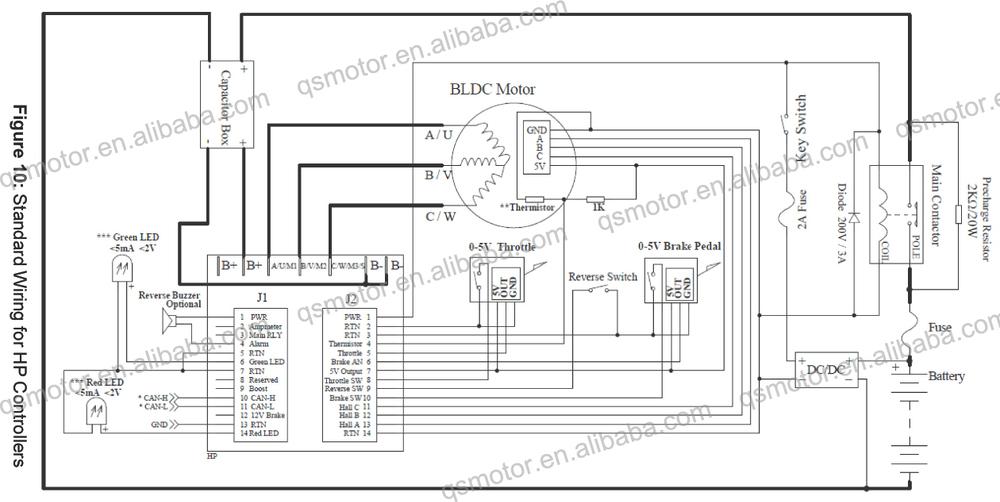 Khb12401,24-120v, 400a, opto bldc controller/mit regen ...