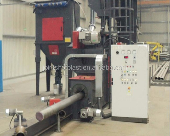 pipe outside wall shot blasting machine