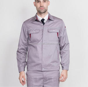 High quality customized color and embroidery logo print workerwear men's uniform