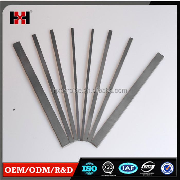 Wholesale ISO certification manufactory supply High precision woodworking tools tungsten carbide strips