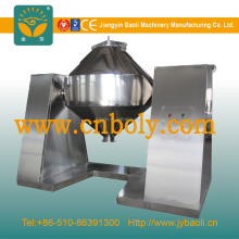 Food double-taper Rotary vacuum dryer with easy operating