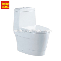 Factory direct supply ceramic sanitary ware siphon chinese one piece toilet bowl