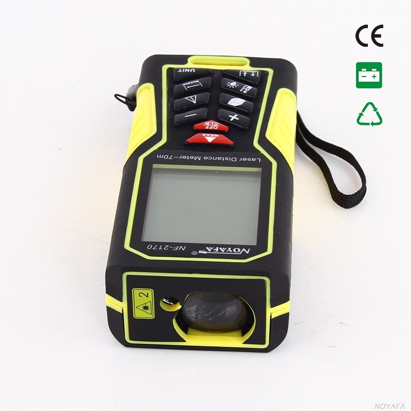 Laser measuring device with length & Area & Volume functions (NF-2170)