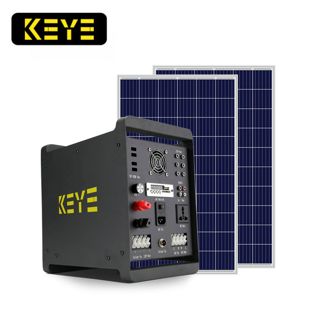 brand new 500w 1000w OEM prepaid solar power lighting kit pay as you go solar power home system PAYG solar