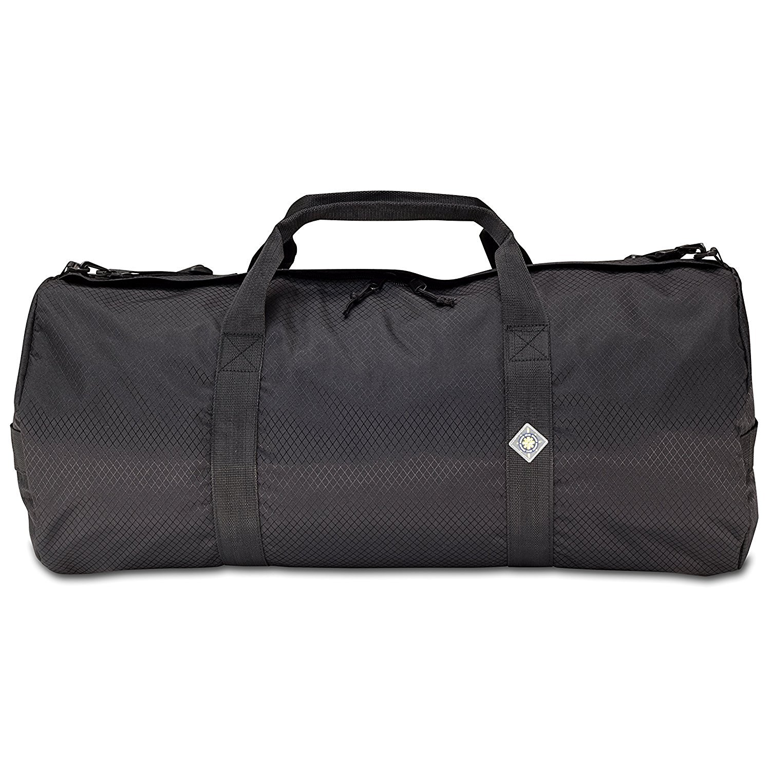 Get Quotations · Sport Duffle Bag 12in Diam 24in L-Midnight Black 4a4bc1cf38c