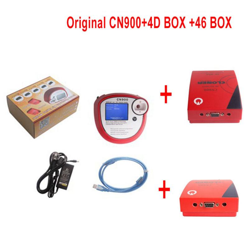 2015 оригинал онлайн-обновление CN900 ключевые программер с 4D декодер 46 BOX полный комплект CN900 программер CN900 авто CN900 быстрая доставка