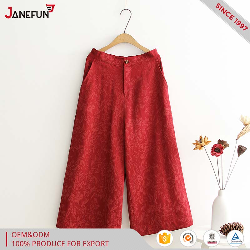 cheap wide leg cotton dance pants for women