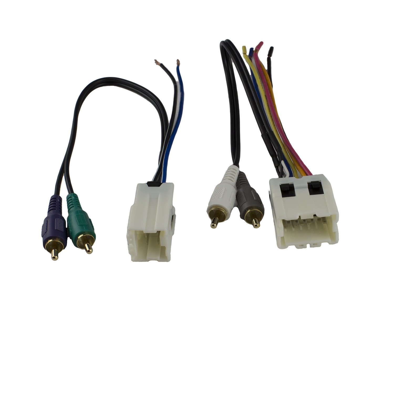 get quotations � novosonics nnf-72a wiring harness for nissan infiniti car  stereo 1995-2006