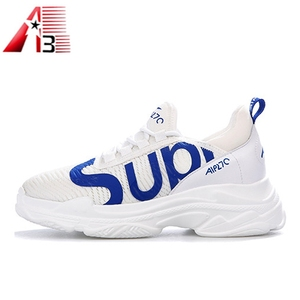 2018 New custom fashion multiple sizes sport shoes and sneakers