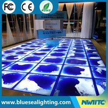 Party night club used led liquid dance floor mat for sale