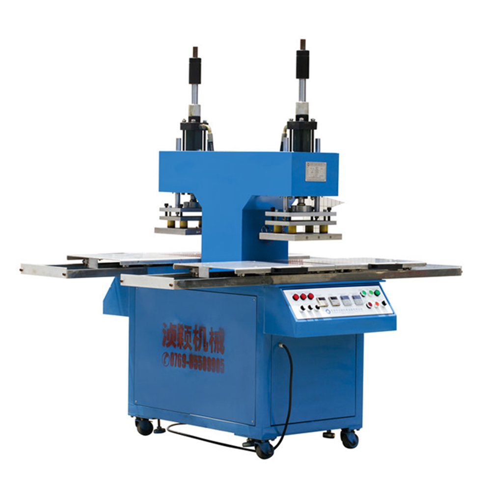Low Price Hydraulic Plate Embossing Four Station Press Machine For Garments