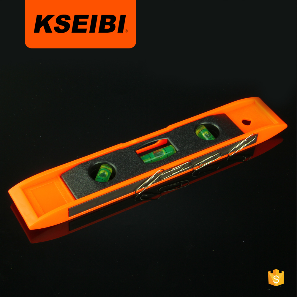 all new high quality KSEIBI plastic 6,9inch magnetic torpedo spirit <strong>level</strong>