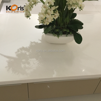 Seamless Joint Artificial Marble Kitchen Top